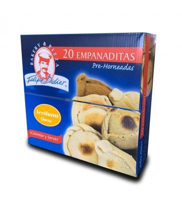 Empanaditas aceituna queso 20 unidades