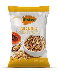Granola cereais e frutas