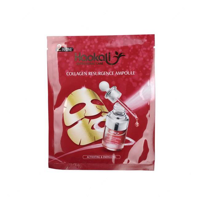 Mascara facial con acido hialuronico