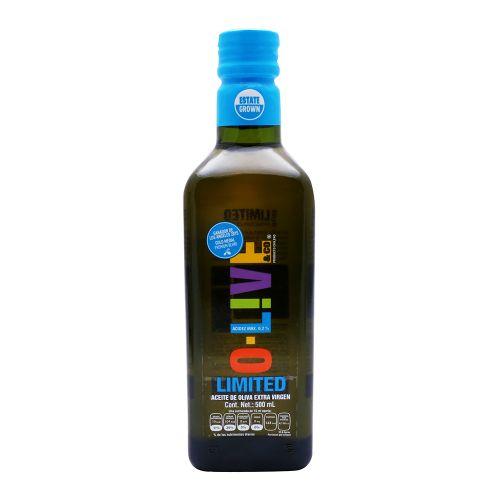 Aceite de oliva extravirgen limited