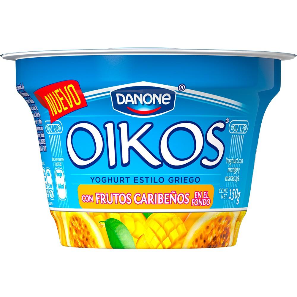 Yoghurt estilo griego con frutos caribeños