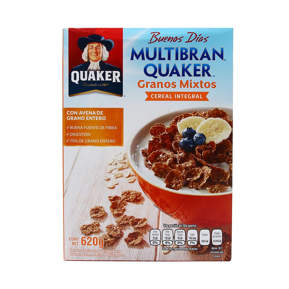 Cereal multibran granos mixtos