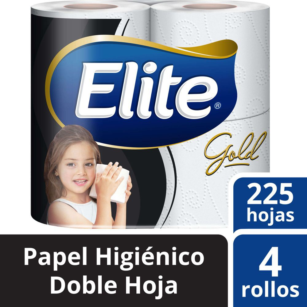 Papel higiénico gold doble hoja
