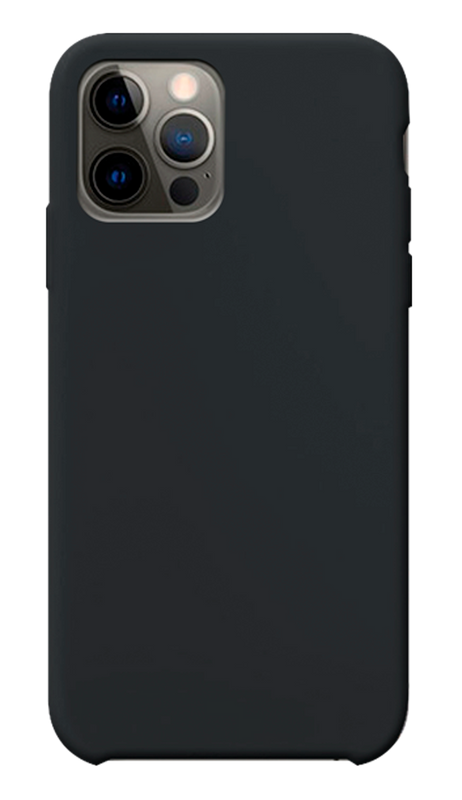 Carcasa new silicone black Iphone 12 / 12 pro