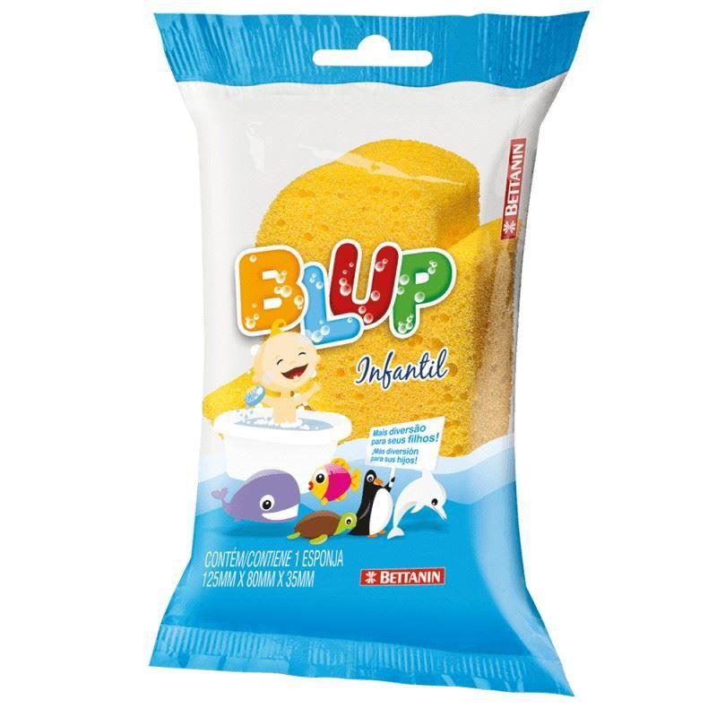 Esponja para banho infantil Blup