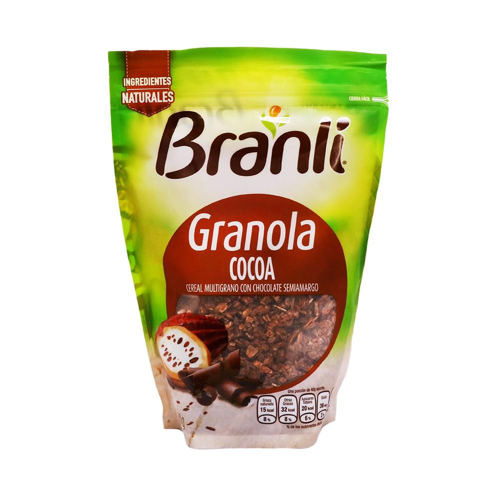 Granola con cocoa