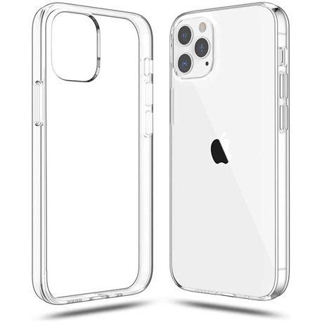 Carcasa silicona iphone 12 / 12 pro Transparente