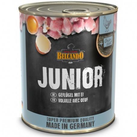 Belcando latas junior ave y huevo 0,8kg