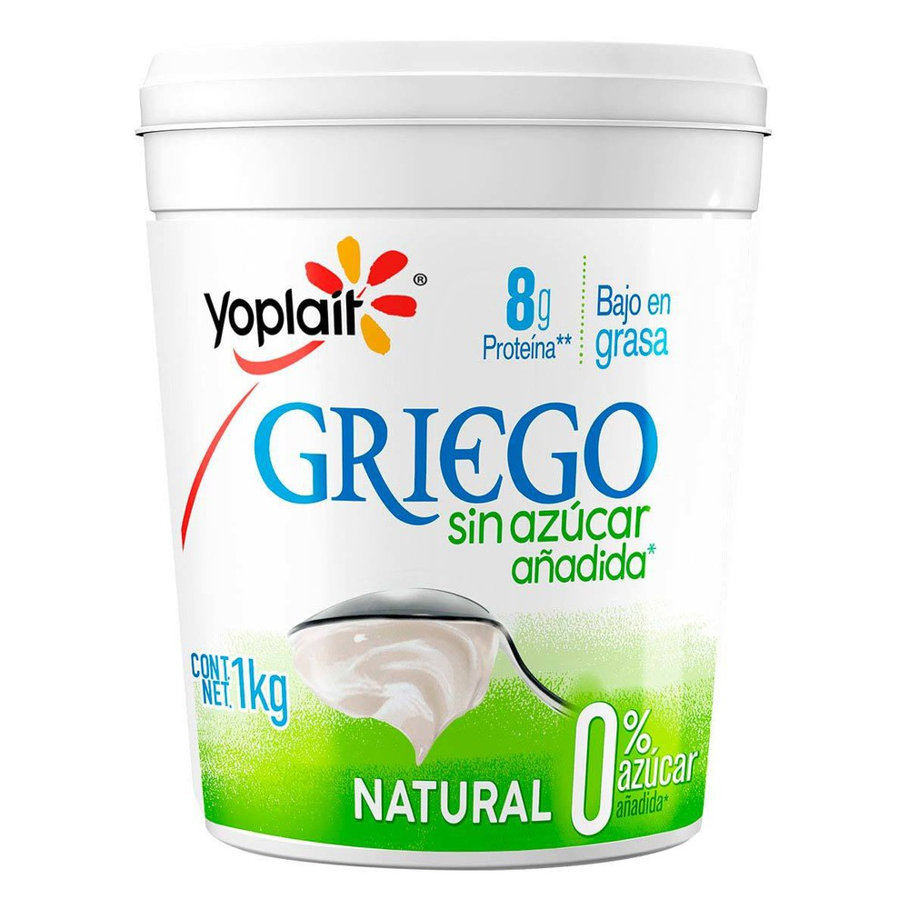 Yoghurt griego natural sin azúcar