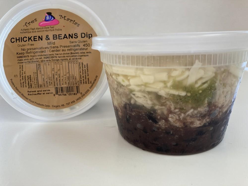 Chicken & beans dip-mild