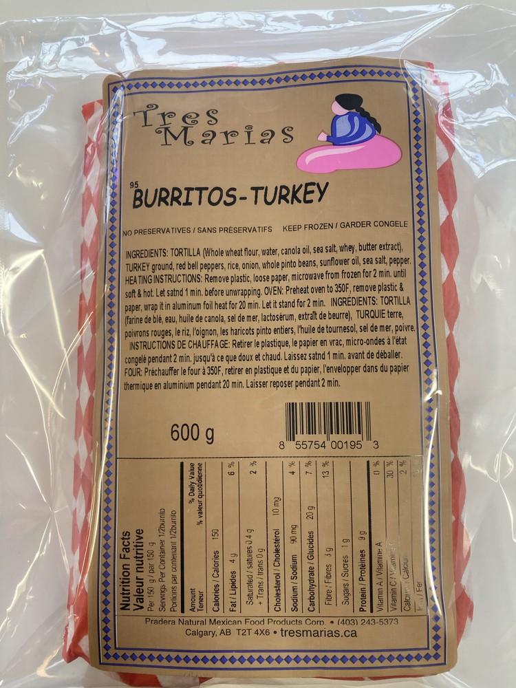 Burritos turkey mild
