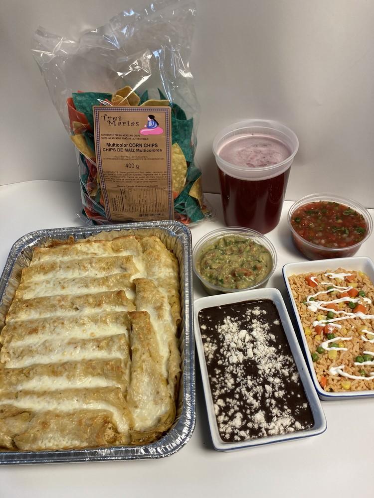 Fiesta enchiladas chicken family pack