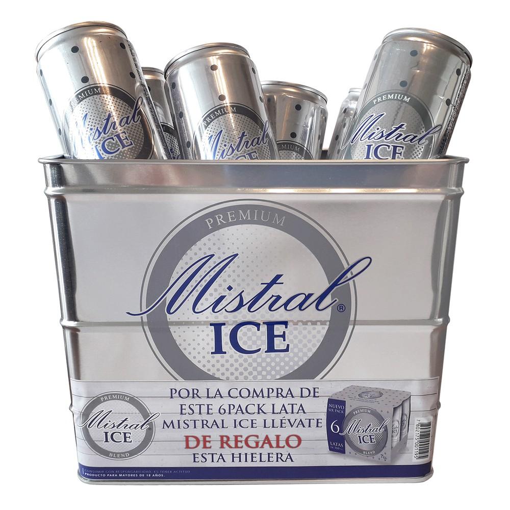 Pack cóctel Mistral Ice lata + hielera