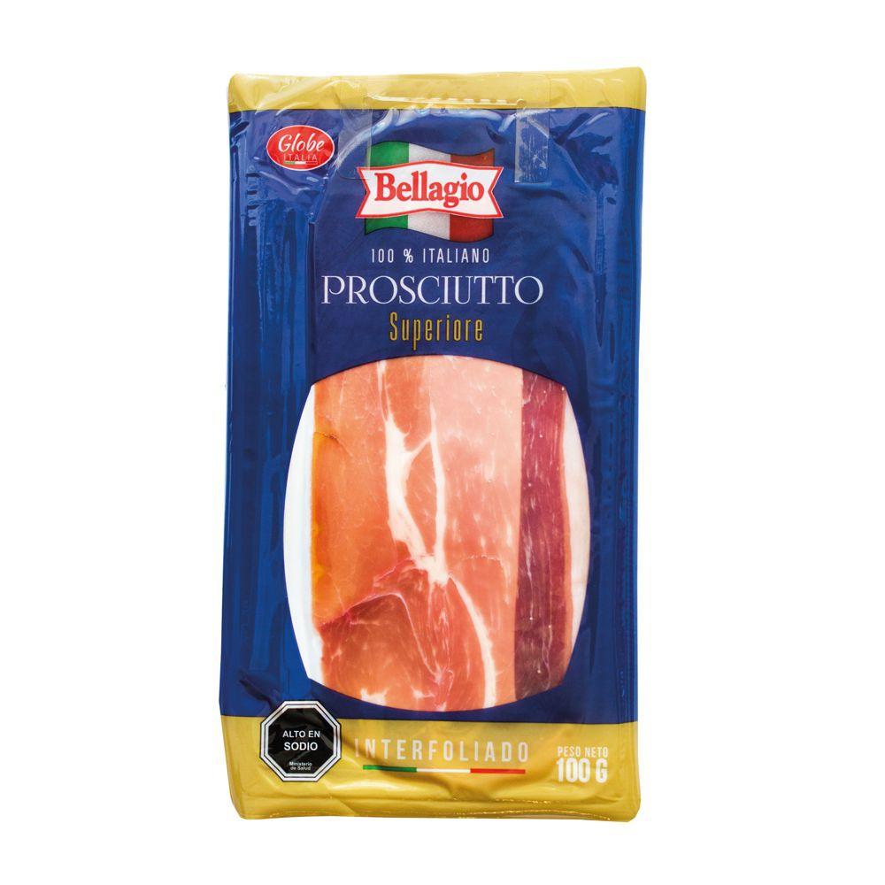 Prosciutto (jamon crudo) Superiore. 100 gr