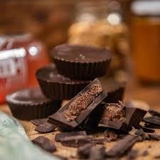 OFERTA Fatboms - bombones keto (cetogenico) sabor mouse de chocolate sin azucar, bajo en carbohidratos, sin gluten 250 G