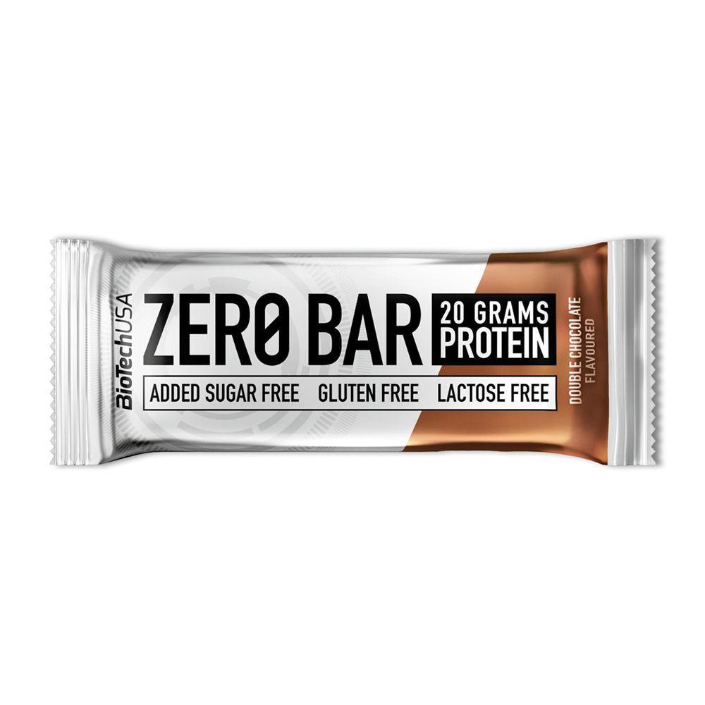 Barra Zero Bar sabor Doble chocolate