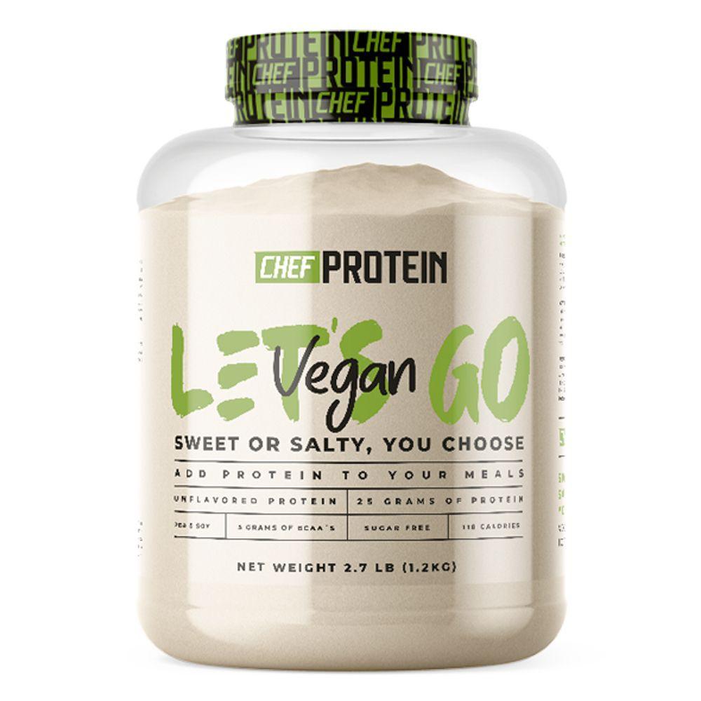Proteína vegan sabor natural Tarro 997 g
