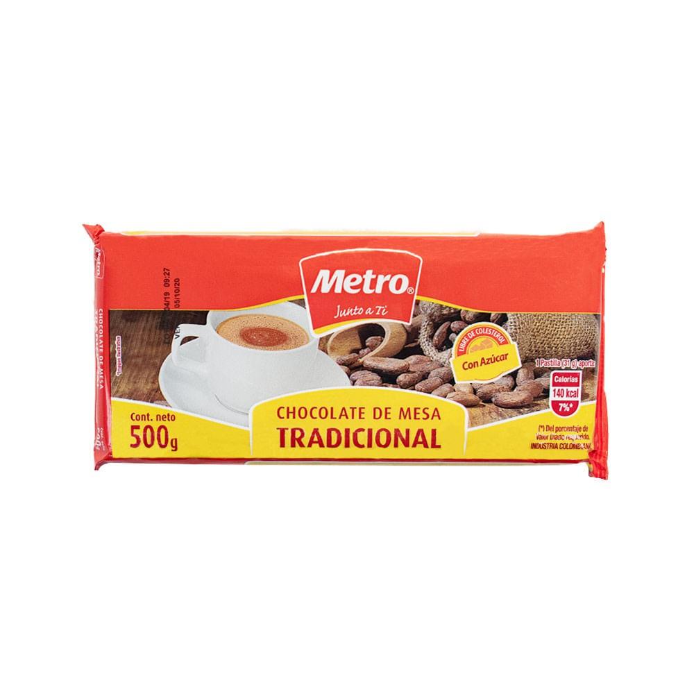 Chocolate Con Azucar Metro *500G