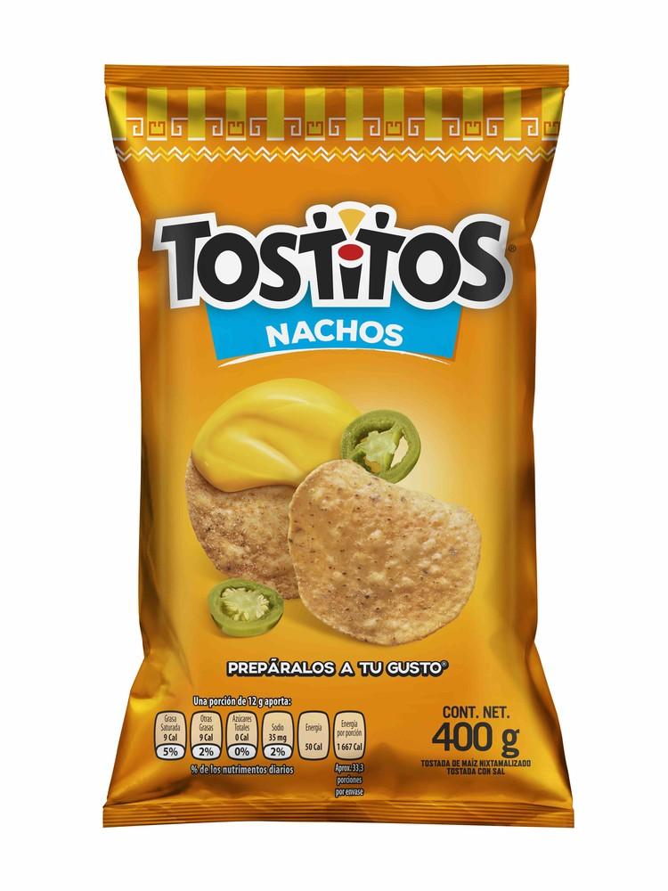 Botana totopos para nachos