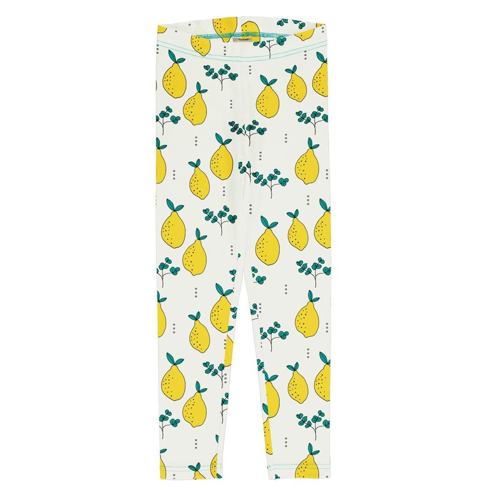 Leggins - meyadey - leafy lemon