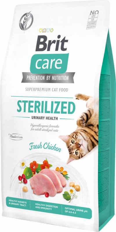 Sterilized urinary health fresh chicken riñón y tracto urinario gato adulto