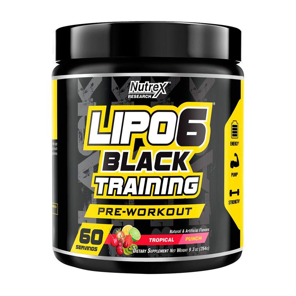 Lipo 6 Black training sabor Tropical