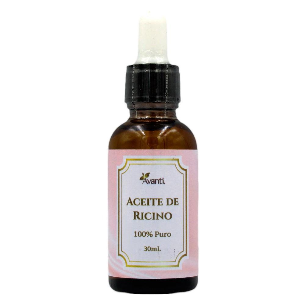 Aceite de ricino 100% puro Frasco 30 ml