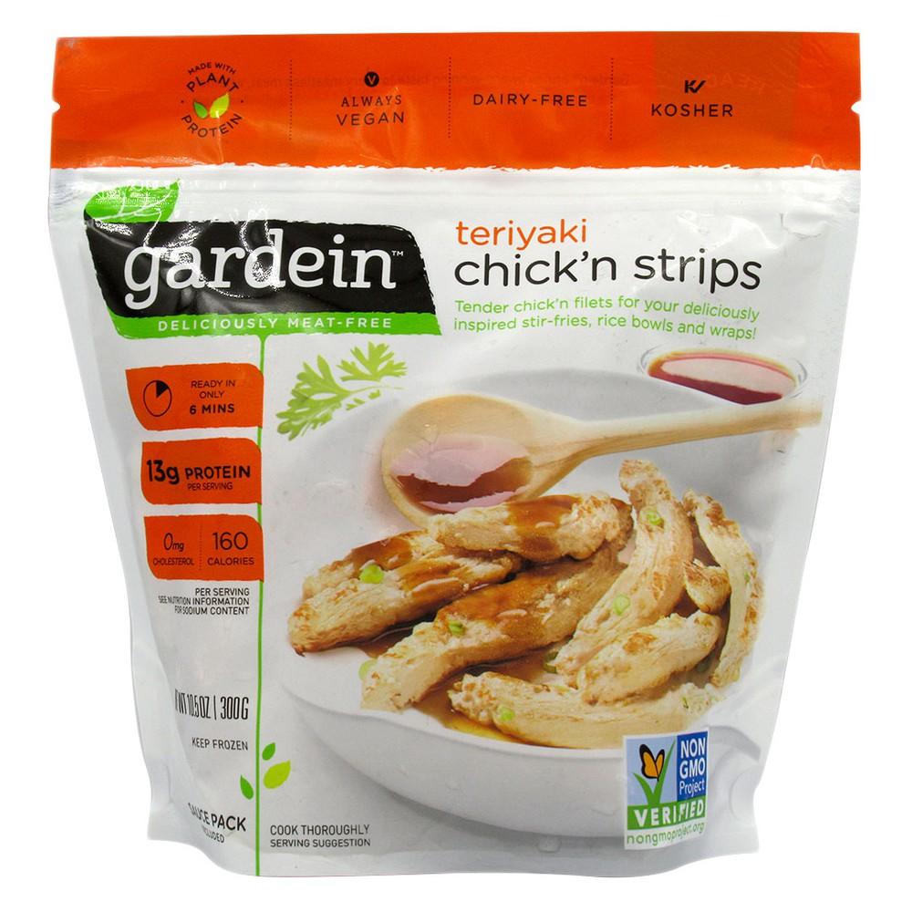 Sucedaneo de pollo con salsa teriyaki