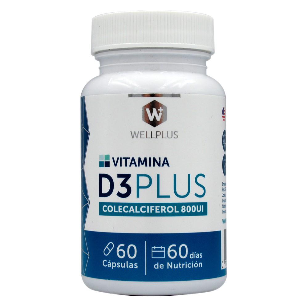 Vitamina D3 plus calciferol 800 ui