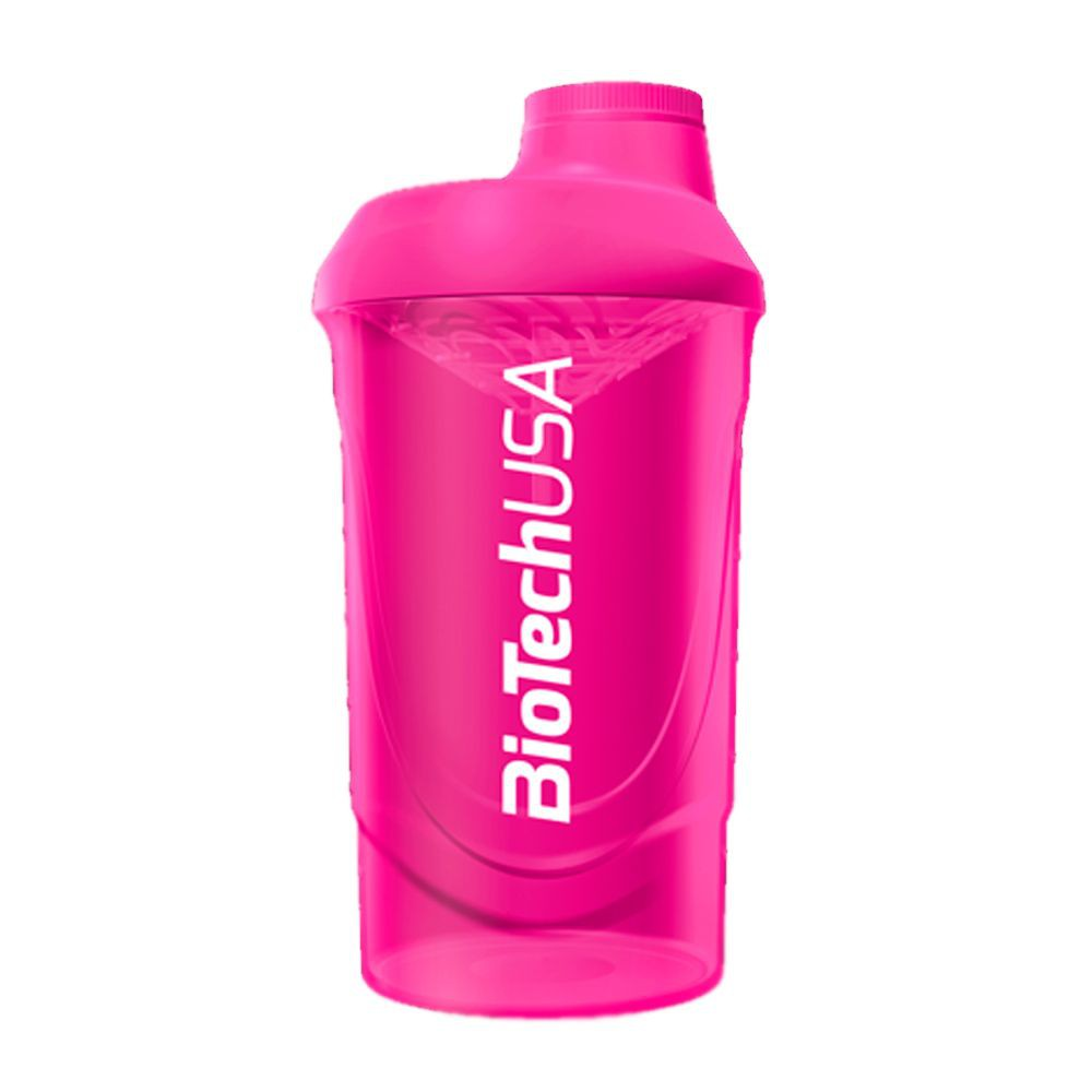 Shaker color rosado Botella 600ml