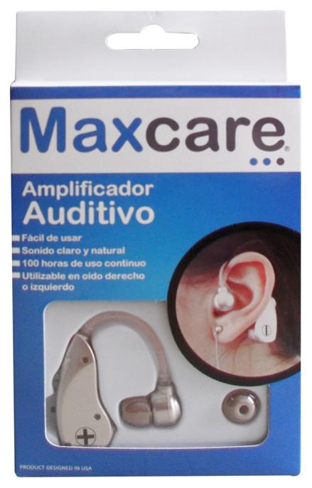 Amplificador auditivomaxcare 6 x 11 x 9 cm