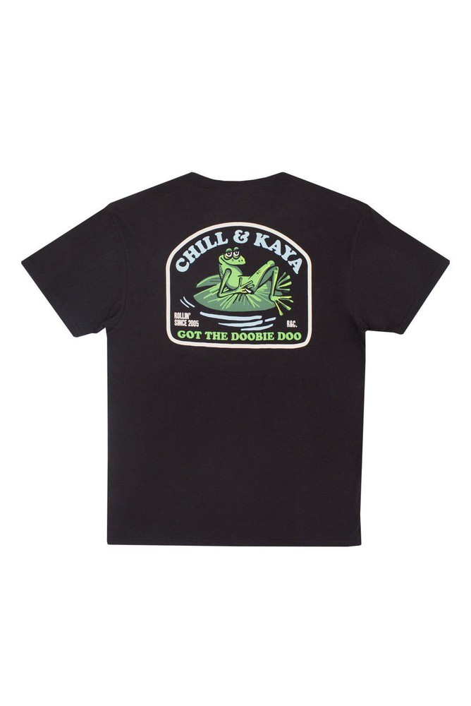 Tshirt froggy black l Talla: L Color: Negro
