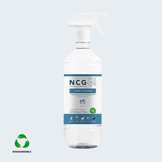 Jabón líquido higienizante para manos 1000cc con gatillo