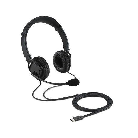 Audifono/microfono kensington usb-c Bolsa 250g K97457WW