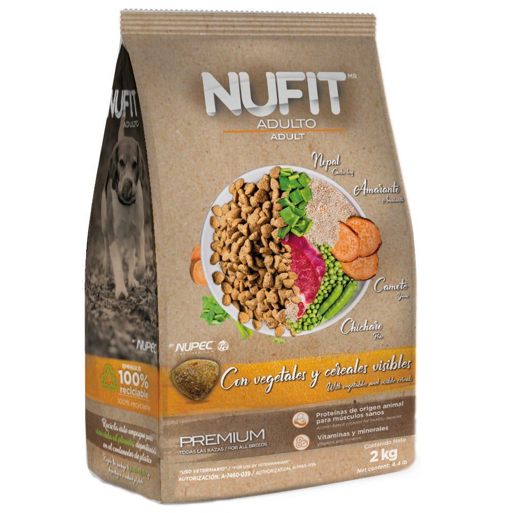 Alimento para perro adulto con vegetales y cereales
