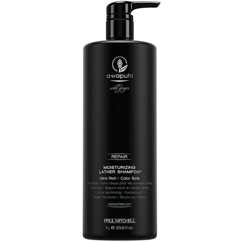 Awapuhi wild ginger moisturizing lather shampoo 1000 ml