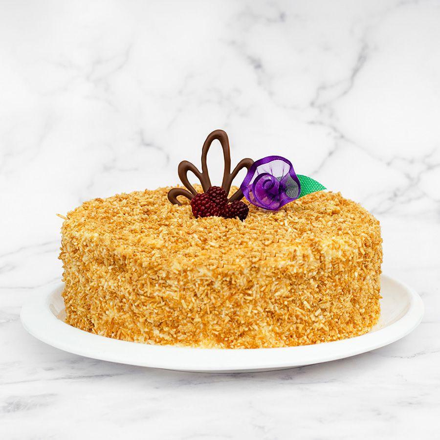 Torta de d´coco 1/4 lb. (8 - 10 porciones) caja