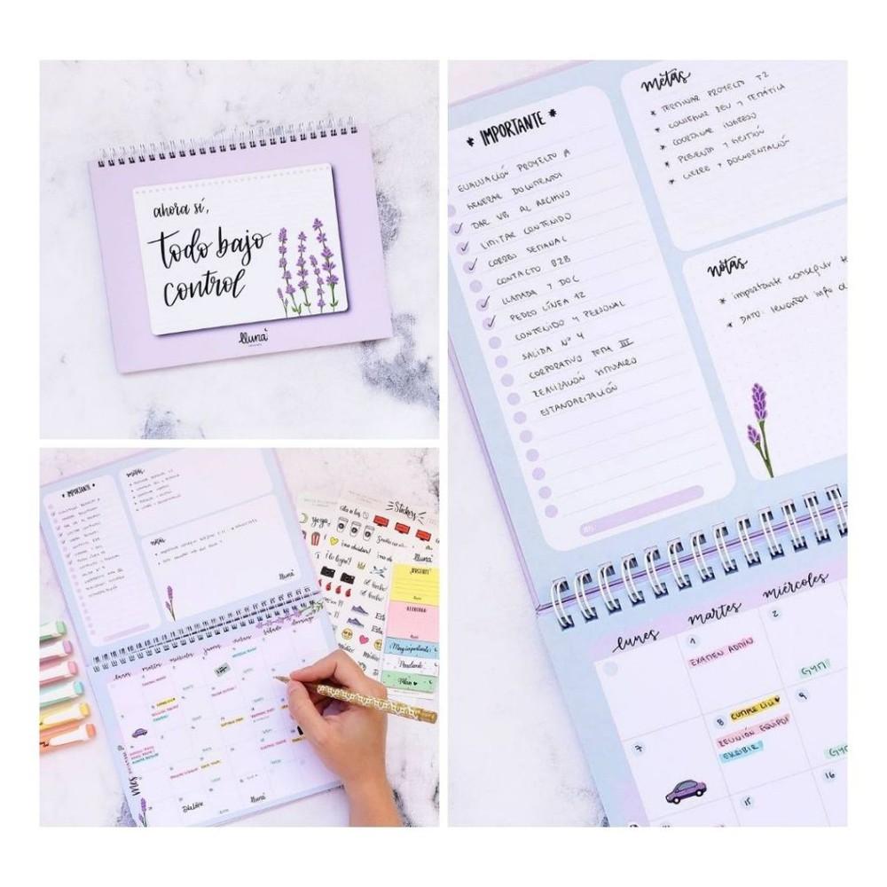 """Planner """"todo bajo control"""" planificador mensual"""
