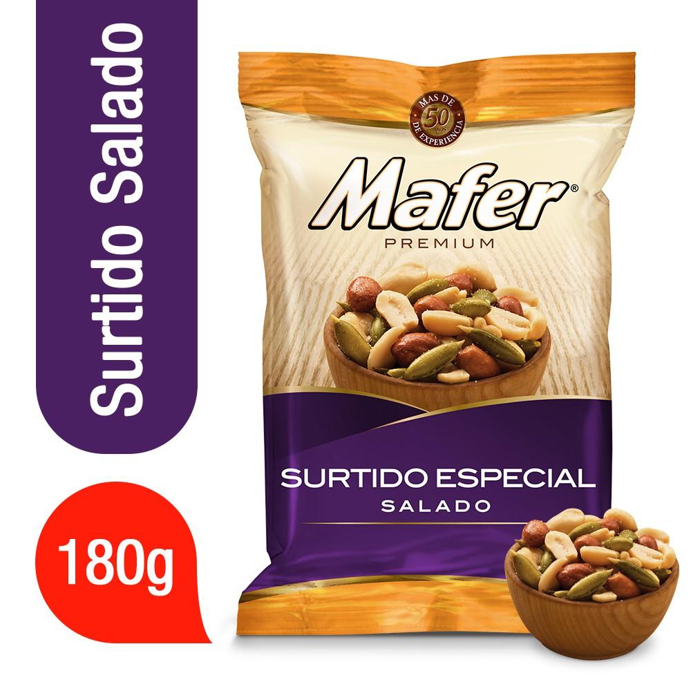Cacahuates Premium surtido especial salado