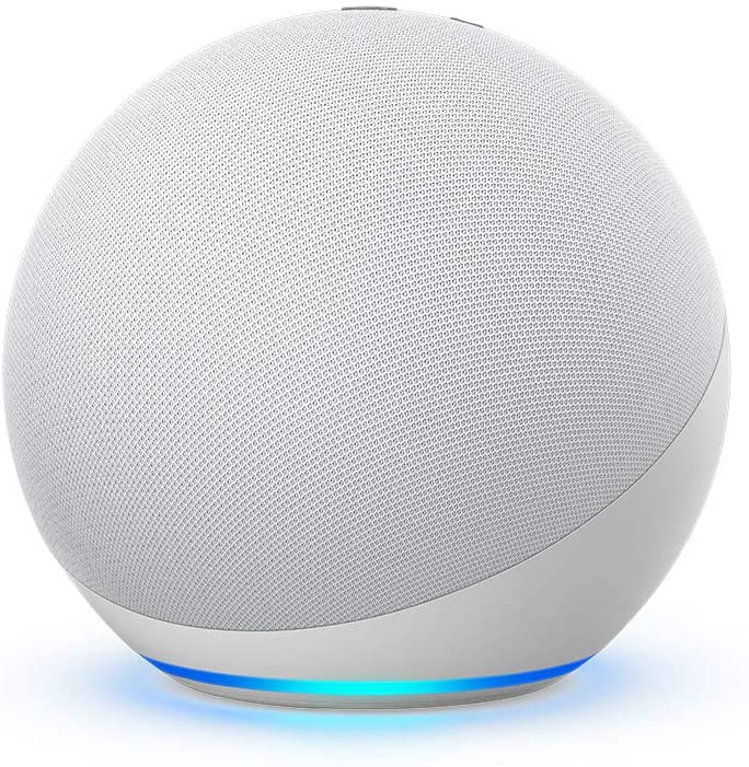 Echo (4ta generación) | con sonido de alta calidad, hub de smart home y alexa | blanco Unidad