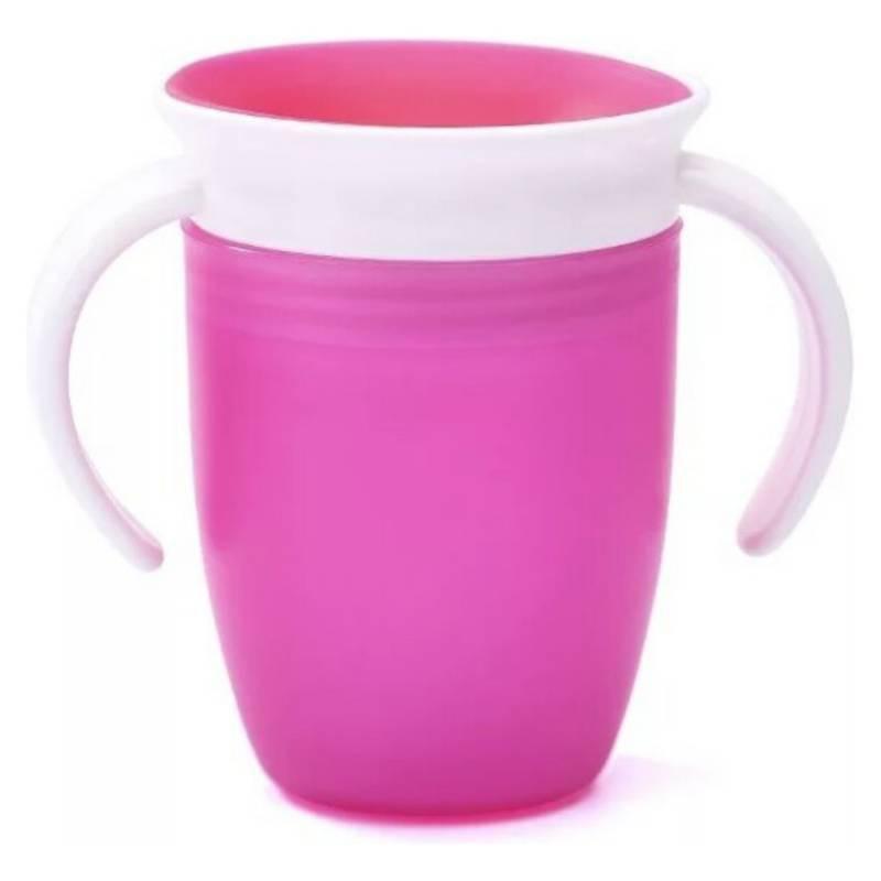 Vaso de aprendizaje magic cup rosado
