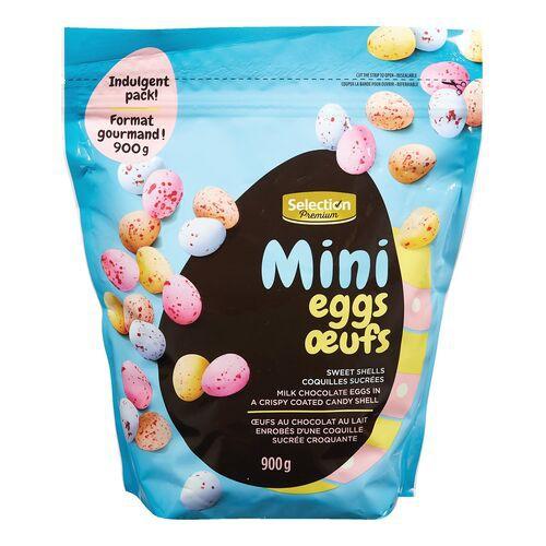 Premium mini chocolate eggs