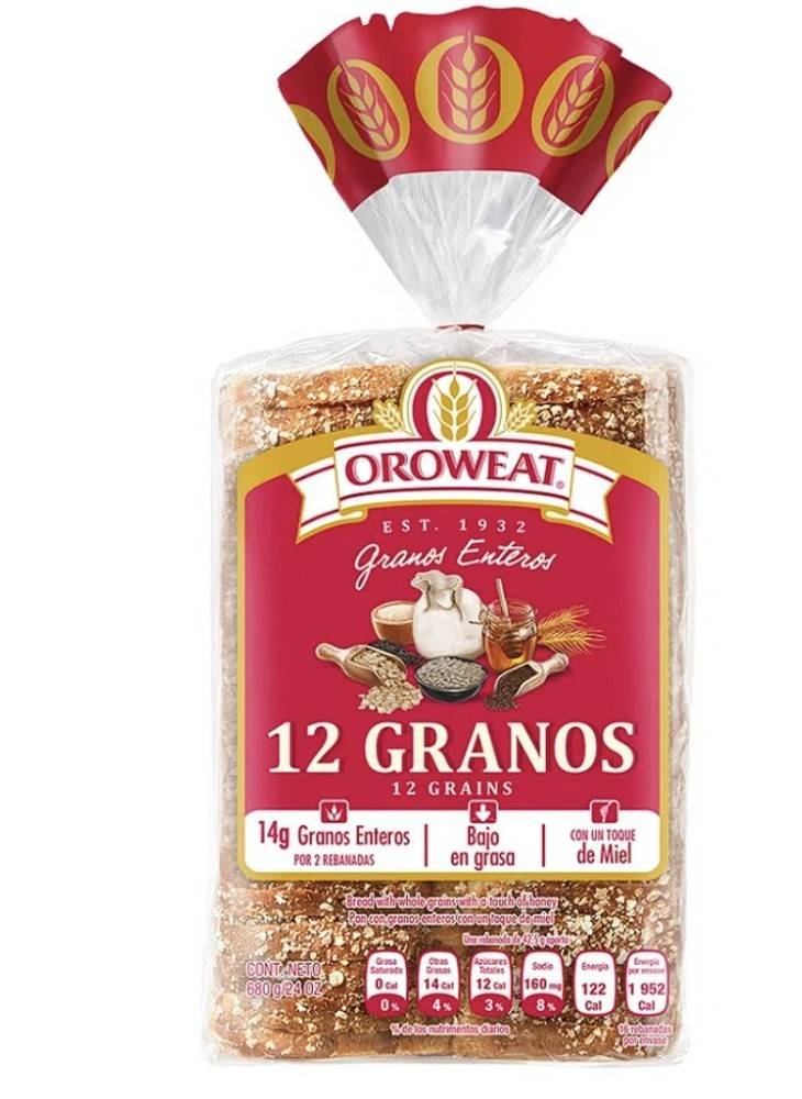 Pan 12 granos