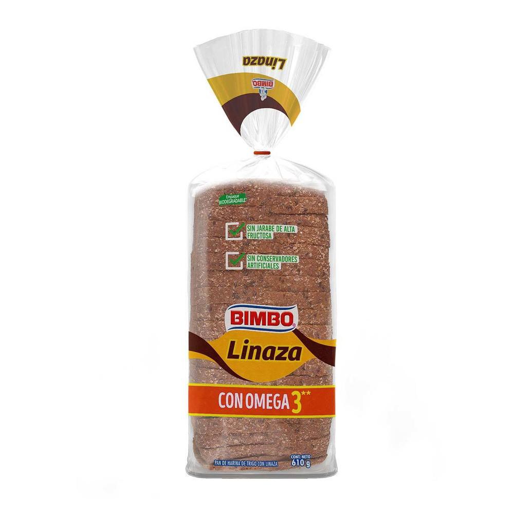 Pan integral linaza