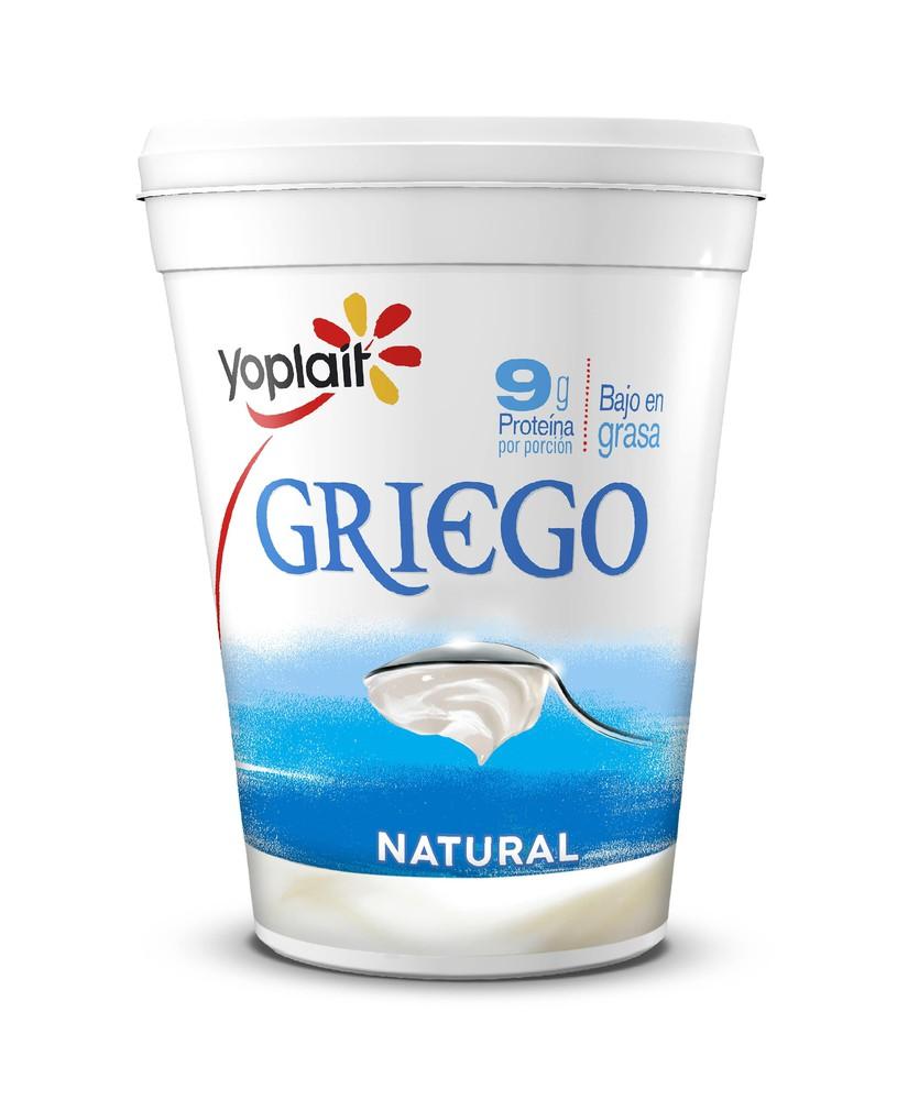 Yoghurt griego natural bajo en grasa
