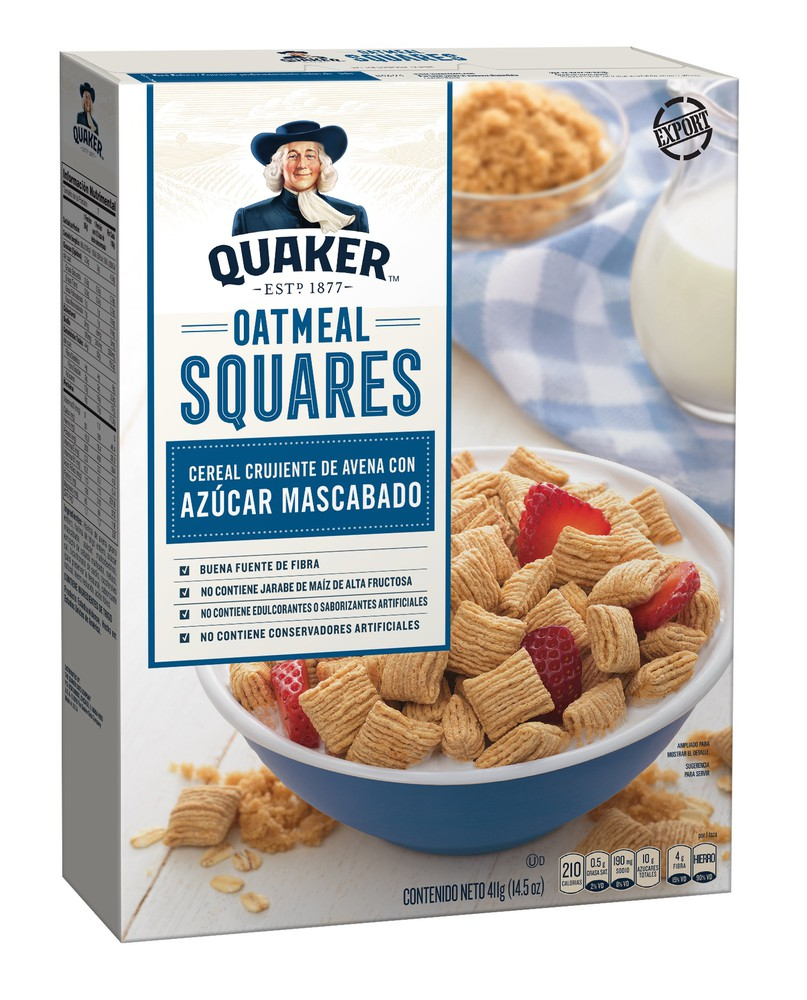 Cereal Oatmeal Squares de avena