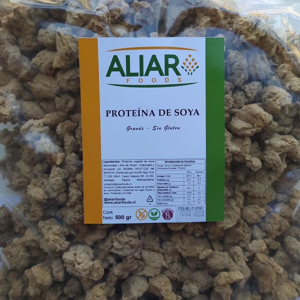 Proteína de soya