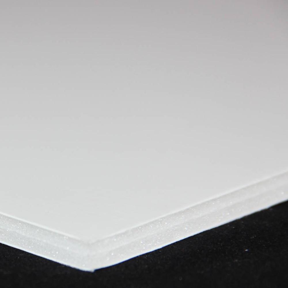Carton espuma blanco 3mm. 50,4 x 76,2 cm artel