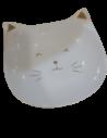 Prato gatinho porcelana 300gr