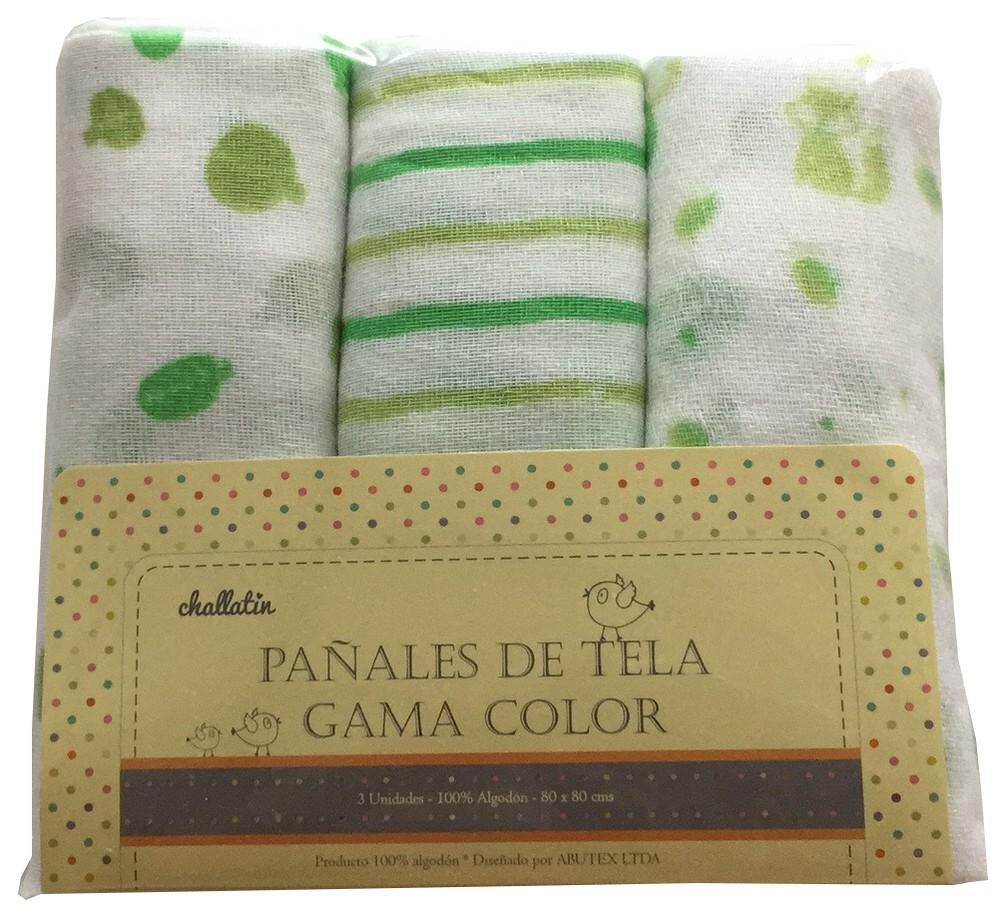 Pack pañales gama verde